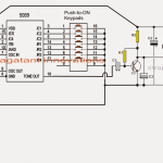 DTMF based FM Remote Control Circuit