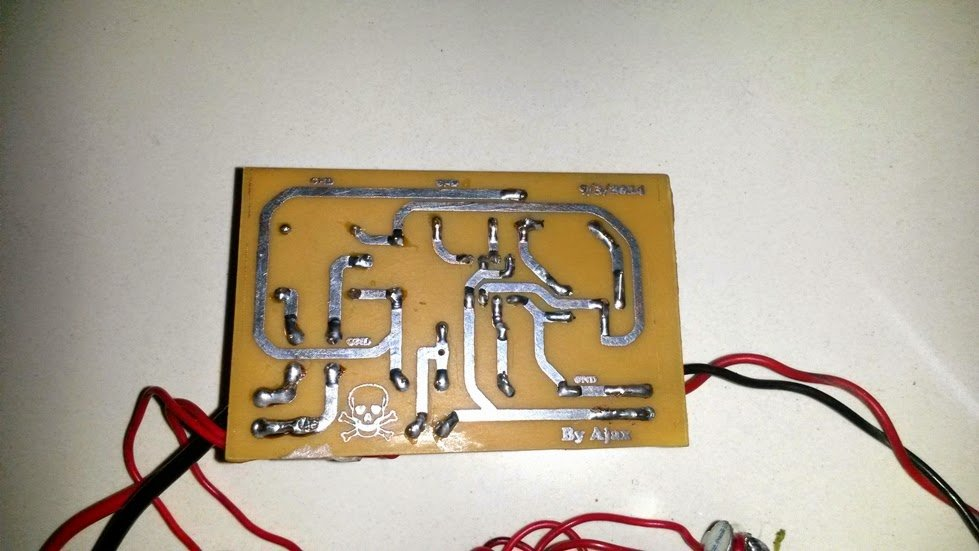 Ledcircuitprojects The Circuit Diagram Of The Above Disco Light Is