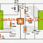 car day night light switch circuit 150x150 - Make this DRL (Day Time Running Light) Circuit for Your Car