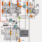 Li-ion Emergency Light Circuit