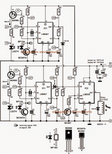 Infrared Staircase Lamp Controller