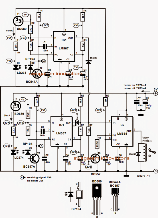 remote controlled fan regulator circuit