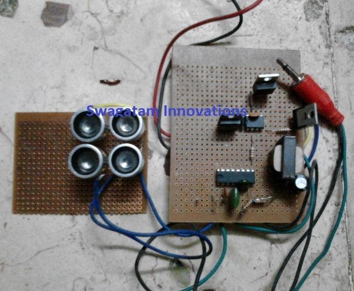 parametric speaker circuit