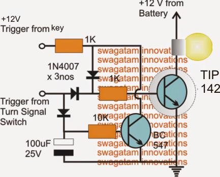 Modifying Car Turn Signal Lights, Park-Lights and Side-Marker Lights
