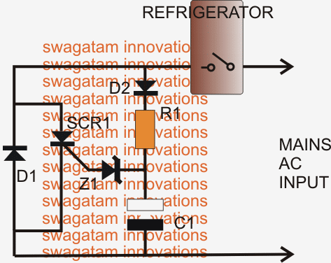 Motor Soft Start For Refrigerators