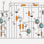 Simple Walkie Talkie Circuit