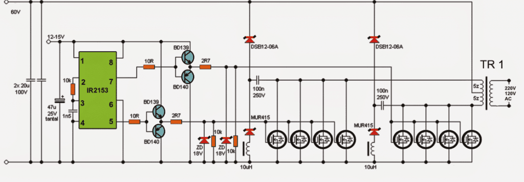 How To Make Efficient Led Emergency additionally Inverter further Sircuitos Electronicos additionally 5kva Ferrite Core Inverter Circuit further 5kva Ferrite Core Inverter Circuit. on 5kva ferrite core inverter circuit