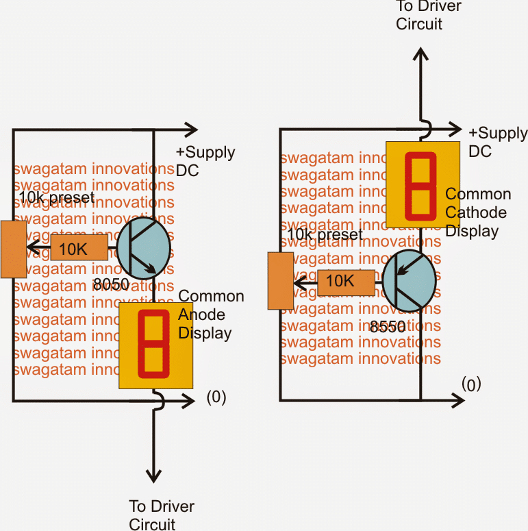 Variable LED Intensity Controller Circuit