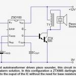 Alarm Signal Generator IC ZSD100 Datasheet, Application Circuits