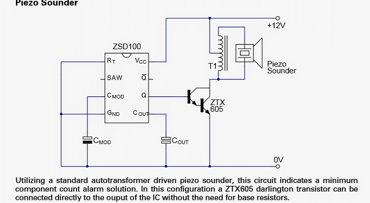 Piezo Transducer 15v Buzzer 2800hz further 17855 likewise ponents And Symbols Of Transducers in addition Buzzer Driver Circuit furthermore 41. on piezo transducer circuit