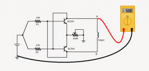 Simple 1.5 V Inductance Meter – Design Tutorial with Diagram