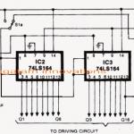 Knight Rider LED Scanner Circuit – Mustang Type
