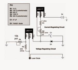 LM317 Variable Voltage, Current Regulator