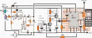 Cellphone Display Light Triggered Remote Control Circuit