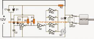 Automatic PWM Door Open/Close Controller