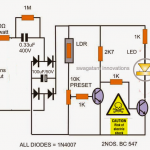 ledcandlelightcircuit 150x150 - Automatic LDR Controlled LED Emergency Lamp Circuit Problem