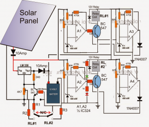 Solar Panel Optimizer Circuit