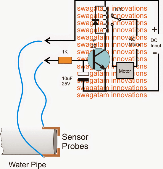 watersensorcircuitutility 1 - Municipal Water Supply Sensor, Pump Controller Circuit