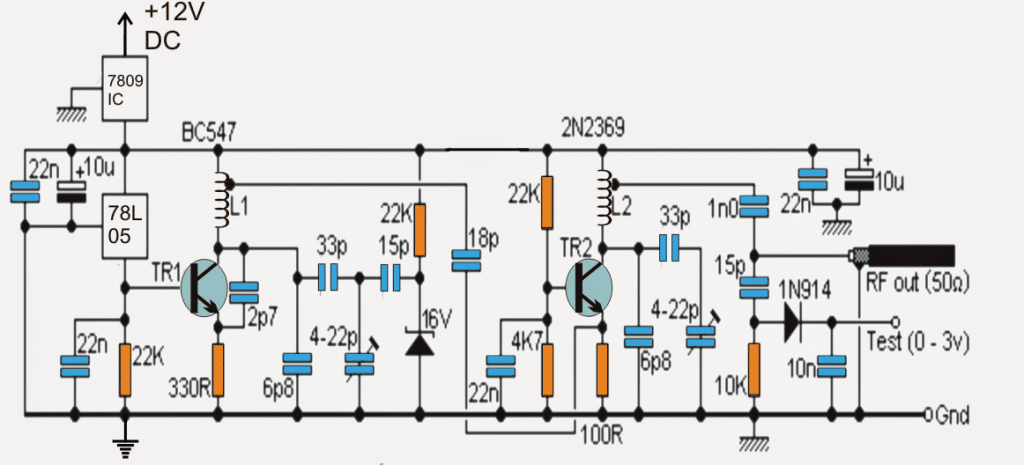 how to make a powerful rf signal jammer circuit