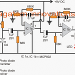 Heart Rate Sensor with Processor Circuit