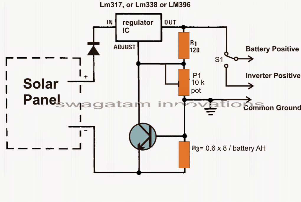 Mobile Charger Using Ic 555 Circuit Diagram together with Battery Charger Dual Voltage Transformer Schematic furthermore True Solar Mppt Circuit With Iv Tracking also Solar Power Battery Charger Circuit How Do You Know If further Solar Battery Charger Circuit. on mppt circuit using lm317 ic