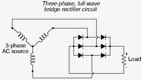 3 phase DC rectifier circuit