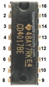 IC 4017 decade counter image