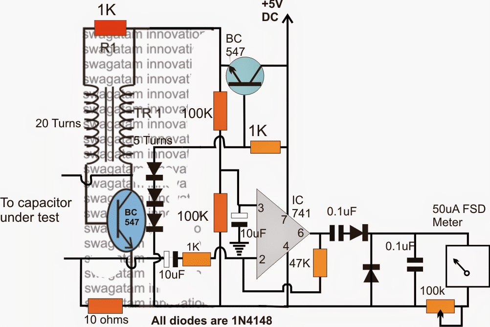 Simple ESR Meter Circuit