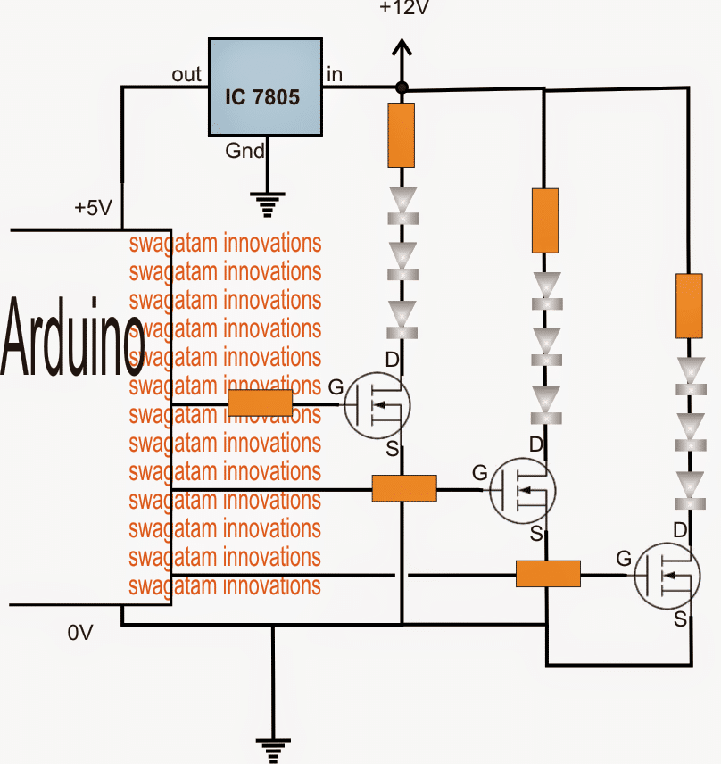How to Drive High Watt LEDs with Arduino
