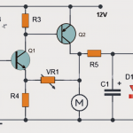 Temperature Triggered DC Fan Speed Controller Circuit