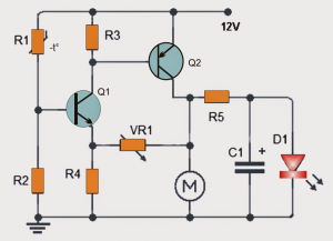 Temperature Triggered DC Fan Speed Controller