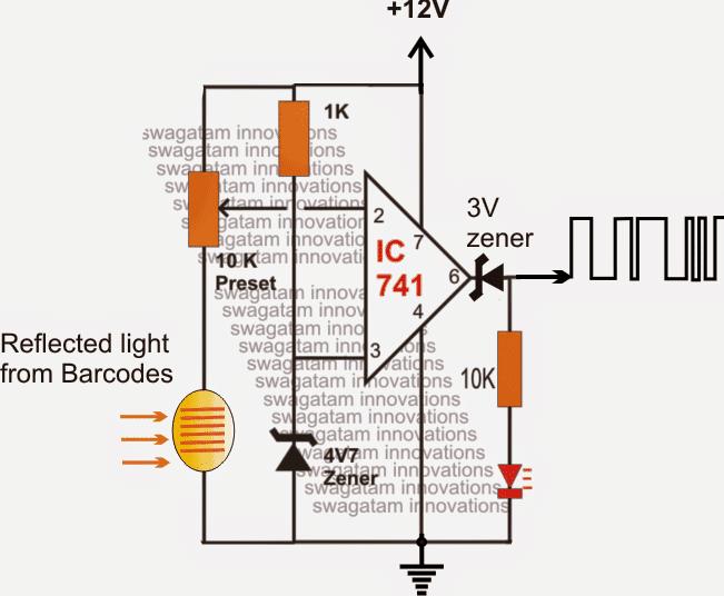 Barcode Security Lock Circuit - Part1