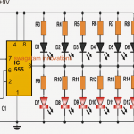 Cyclist's Safety Light Circuit