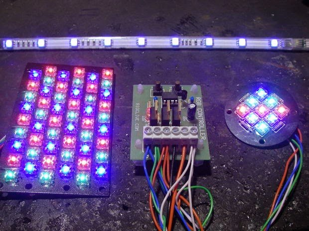 Simple Rgb Led Controller Circuit Homemade Circuit Projects