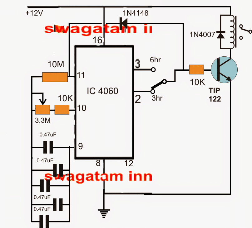 Simple Industrial Delay Timer Circuits
