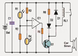 Simple Shadow Sensor Alarm – Human Shadow Detector
