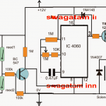 solenoidtimercircuit 150x150 - 220V Touch Lamp Circuit with Delay Timer