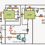 Proximity Detector Circuit Using IC 555