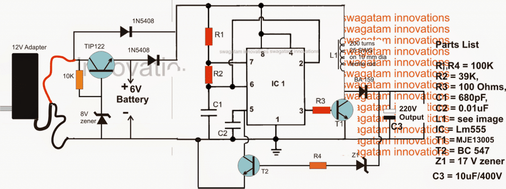 3 Simple DC UPS Circuits for Modem/Router