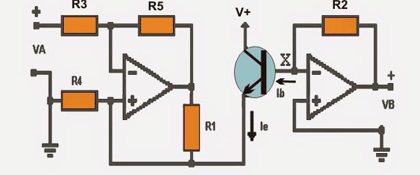 Measuring Transistor Gain (β) using a simple Circuit