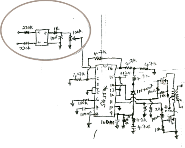 pwm inverter circuit using ic tl494