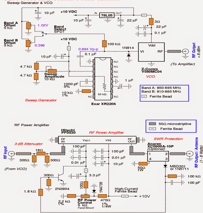 Simple mobile phone jammer circuit diagram somurich simple mobile phone jammer circuit diagram cellphone jammer circuit exploreddesign ccuart Gallery