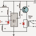 Differential Temperature Detector/Controller Circuit