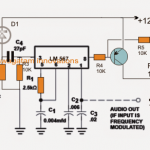Infrared Remote Control Security Lock Circuit for Automotive Applications