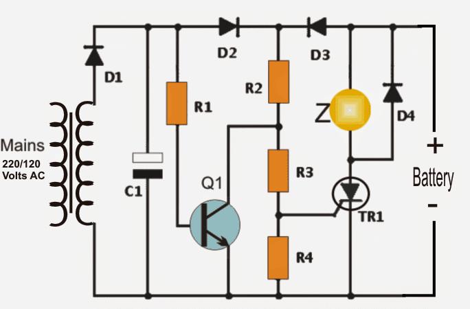 Power Interruption Alarm Circuit