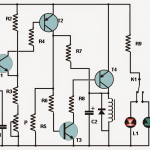 Simple Thermostat Circuit Using Transistors