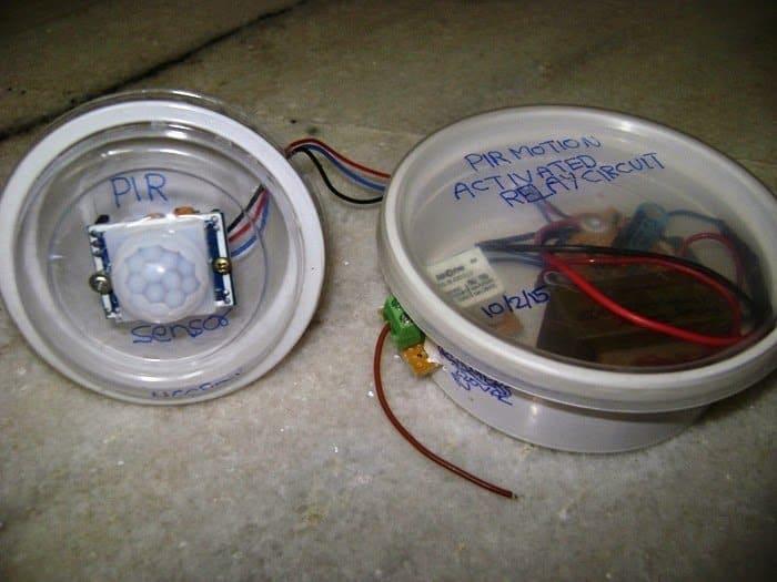 PIR Motion sensor built unit
