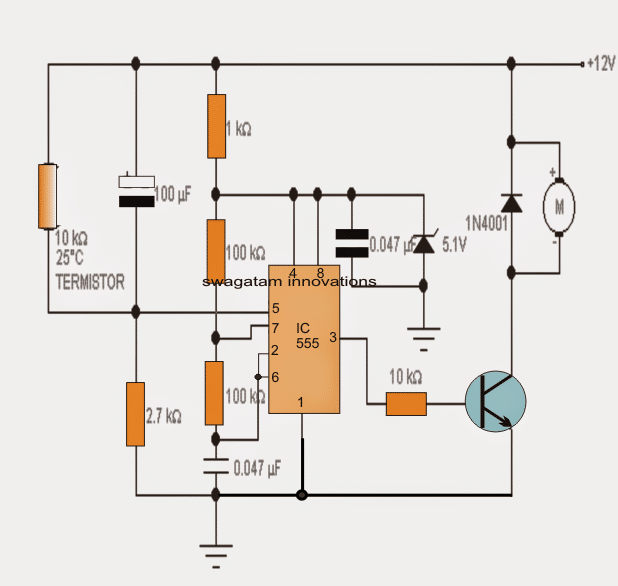 Fan Speed Controller Circuit For Heatsink Homemade