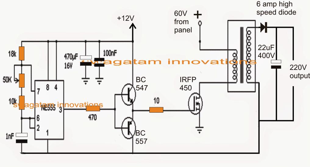 flyback boost converter for solar 3 phase inverter