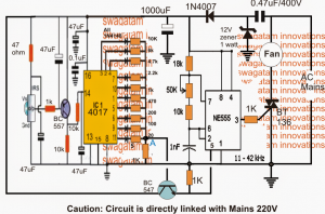 Remote Controlled Ceiling Fan Regulator – Detailed Working with Schematic